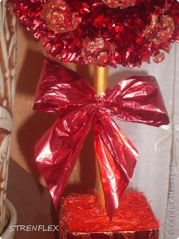 """После моего первого кипарисово дерева http://stranamasterov.ru/node/219032 решила сделать римейк, но в другом цвете! Насобирали в Форосе """"свеженьких"""" кипарисовых шишичек, и вот наконец-то я его выставляю (не прошло и пол года)))) фото 6"""