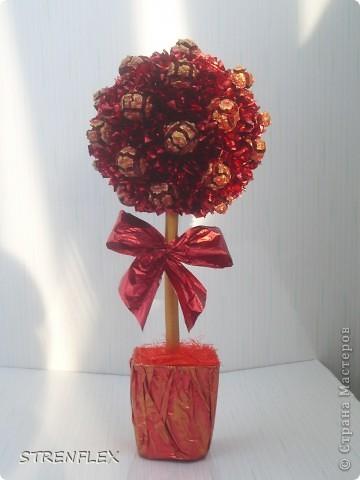 """После моего первого кипарисово дерева http://stranamasterov.ru/node/219032 решила сделать римейк, но в другом цвете! Насобирали в Форосе """"свеженьких"""" кипарисовых шишичек, и вот наконец-то я его выставляю (не прошло и пол года)))) фото 1"""