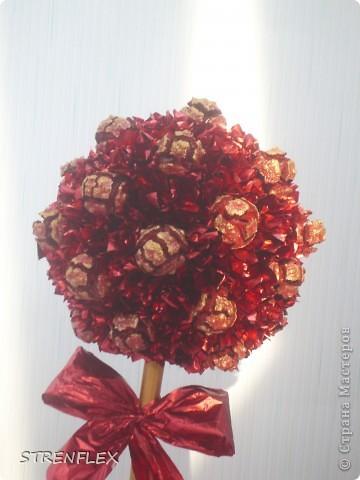 """После моего первого кипарисово дерева http://stranamasterov.ru/node/219032 решила сделать римейк, но в другом цвете! Насобирали в Форосе """"свеженьких"""" кипарисовых шишичек, и вот наконец-то я его выставляю (не прошло и пол года)))) фото 7"""