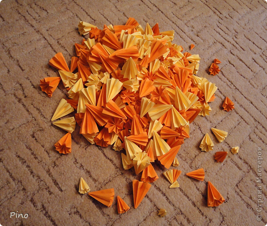 Вот такой маффин у меня получился, лежал, дожидался осенних листиков =^_^= Вдохновил маффин  Eva Vell, очаровательный Липовый цвет ( http://stranamasterov.ru/node/206246?tid=850 ) фото 2