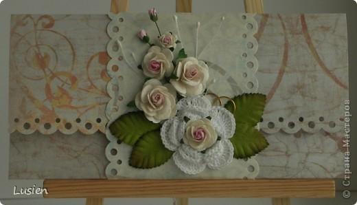 Свадебные конверты фото 1