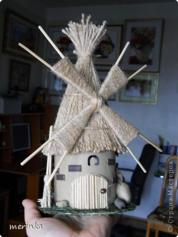 Вот такая мельница у меня построилась)))  фото 5