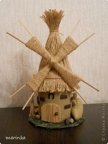 Вот такая мельница у меня построилась)))  фото 1