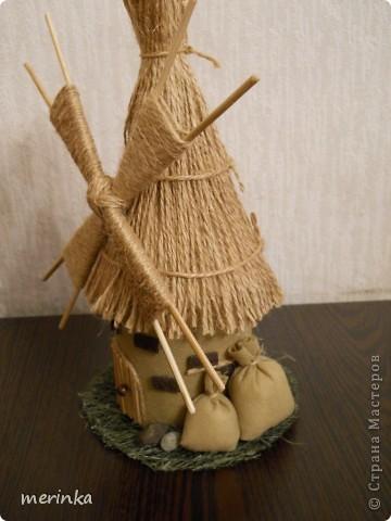 Вот такая мельница у меня построилась)))  фото 2