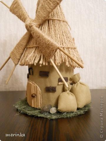 Вот такая мельница у меня построилась)))  фото 4