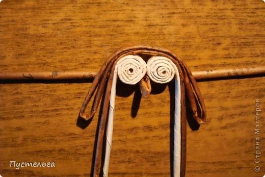 """Пришли ко мне на мастер-класс мама с ребёнком. Пока мама осваивала плетение верёвочкой, ребёнок скрутил две трубочки и спрашивает: """"А что можно сделать из них?"""" Я тогда не смогла ответить. Вот теперь знаю... фото 18"""