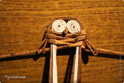 """Пришли ко мне на мастер-класс мама с ребёнком. Пока мама осваивала плетение верёвочкой, ребёнок скрутил две трубочки и спрашивает: """"А что можно сделать из них?"""" Я тогда не смогла ответить. Вот теперь знаю... фото 20"""