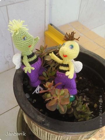 Братья -пчелята от Ната585. Связались ко дню рождения двух моих подруг.  фото 9