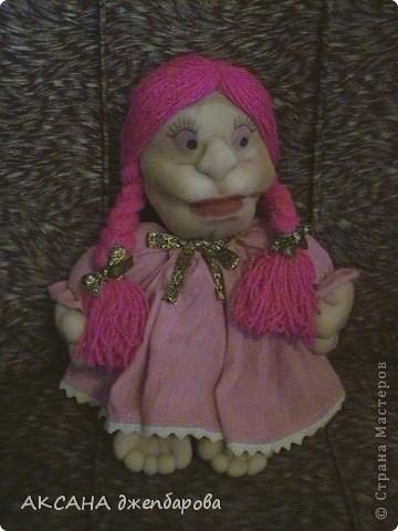 мая первая кукла.хочу сказать спасибо всем мастерам за мк которые шют этих чудесных кукол. фото 1