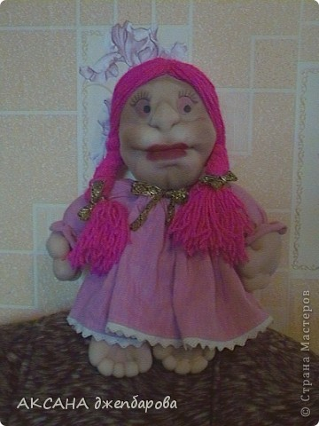 мая первая кукла.хочу сказать спасибо всем мастерам за мк которые шют этих чудесных кукол. фото 2