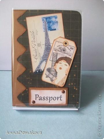 Вот, затянуло... Сделала ещё несколько обложек для паспорта. Выставляю на ваш суд, дорогие мастерицы. фото 1