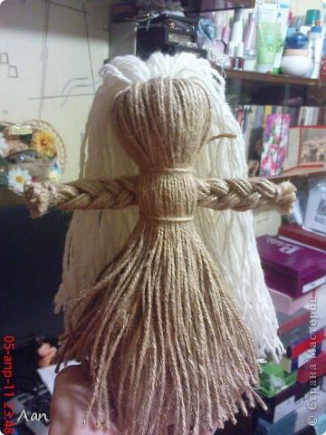 Кукла из ниток фото 1