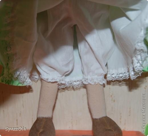 Аллочка. рожки, копытца тонированы кофе с корицей; ручки,  ножки гнутся. нос не пришивался отдельно, делала утяжками. фото 6