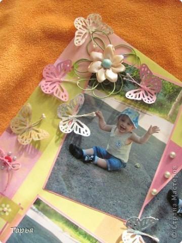"""Посетила сегодня мастер-класс. Тема была """"Детская страничка"""". Вот что у меня получилось. На фотографиях моя дочка Варя. :) фото 2"""