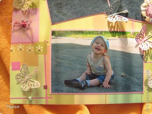 """Посетила сегодня мастер-класс. Тема была """"Детская страничка"""". Вот что у меня получилось. На фотографиях моя дочка Варя. :) фото 4"""
