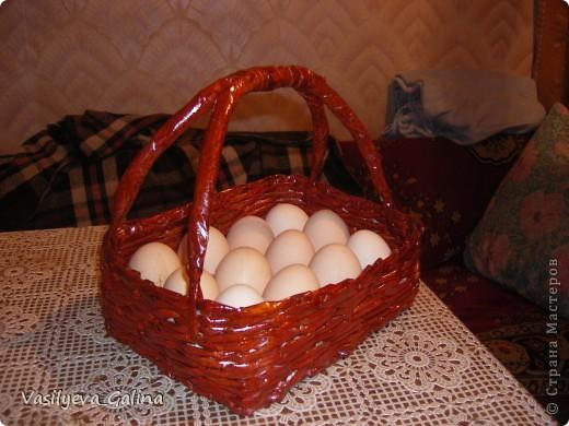 ваза малая-косое плетение. фото 7