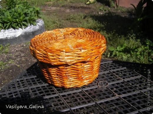ваза малая-косое плетение. фото 10