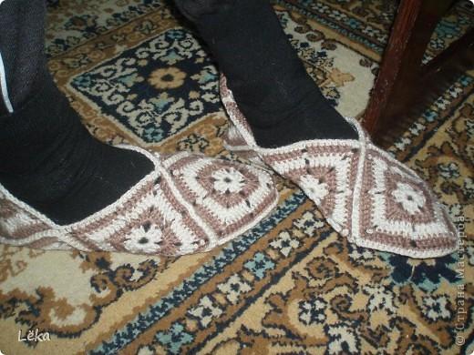 Тёплые следочки для мужа фото 1