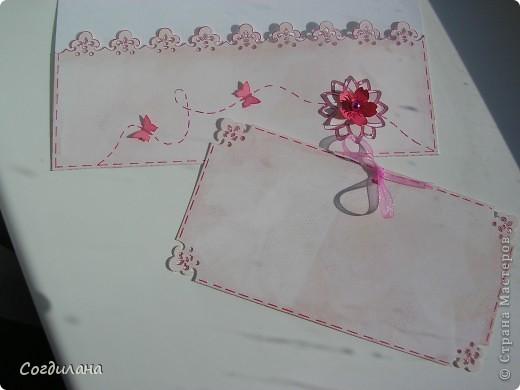 Надеюсь я вам еще не надоела!!!?? Любимый муж подкупил мне цветочков, правда, самую малость)) Спасибо Настене Солнышко за ленточку и цветочек и за все-все подарочки, а девочкам по обмену за дырокольности!!!! Бисер, капли и подвесочки от старых сережек)) фото 4