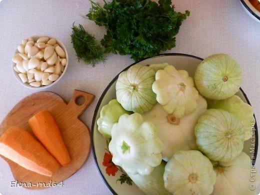 Здравствуйте всем!Собрала сегодня кабачки-последушки,приглашаю приготовить из них вкусную закуску на зиму.И так,приступим... фото 2