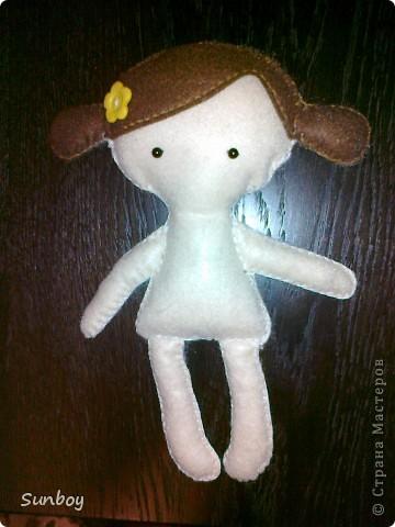 Кукла из фетра фото 6
