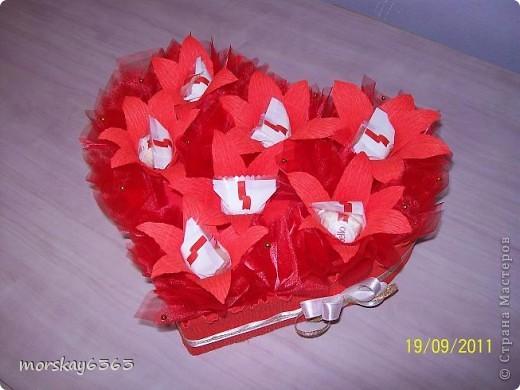 Сердце предназначено для девочки 7 лет от кавалера фото 1