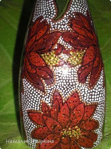 ваза из бутылки фото 3