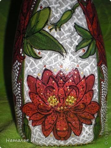 ваза из бутылки фото 4