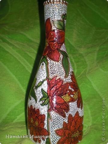 ваза из бутылки фото 5