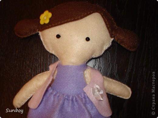 Кукла из фетра фото 2