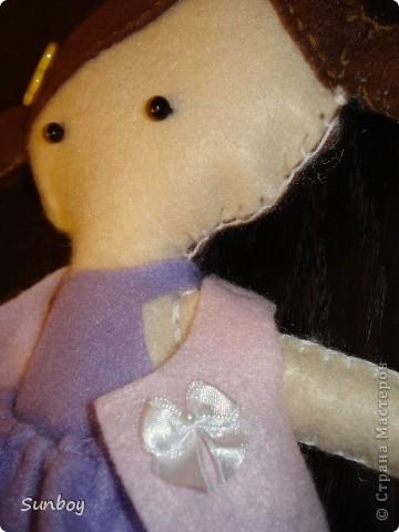 Кукла из фетра фото 3