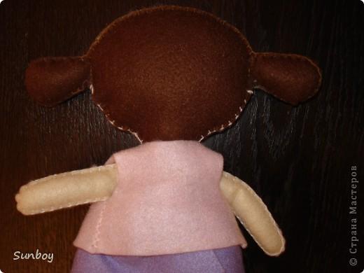 Кукла из фетра фото 4