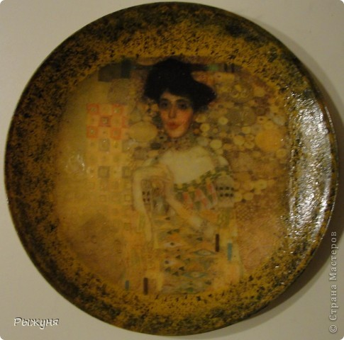 Здравствуйте, дорогие  мастерицы!  Я решила сделать серию портретов женщин.Женщины всегда олицетворяли эпоху в которой жили и были лицом времени. Эту тарелочку со знатной дамой 19 века я сделала  полюбовавшись на тарелочки Ольги Журко. фото 8