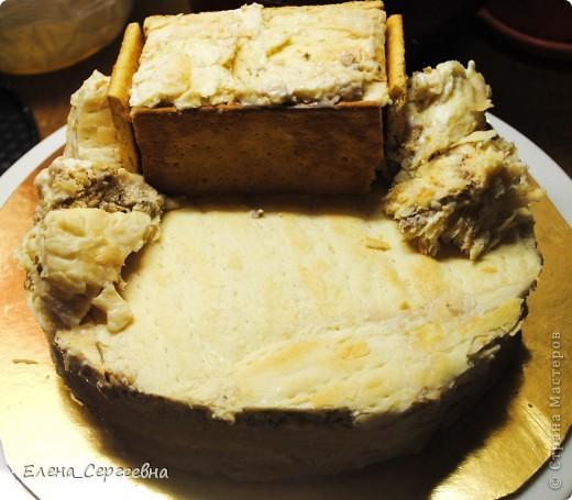 """Торт """"Хуторок"""". Вес 3 кг.  Основа - торт """"Наполеон"""" с грецким орехом.  Сахарная помадка. Королевская глазурь. Воздушный рис. Брилгель. Пищевые красители. Цветной сахар.  фото 12"""