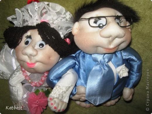 Жених, невеста и попики-подружки невесты)) фото 1