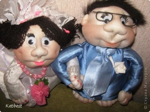 Жених, невеста и попики-подружки невесты)) фото 2