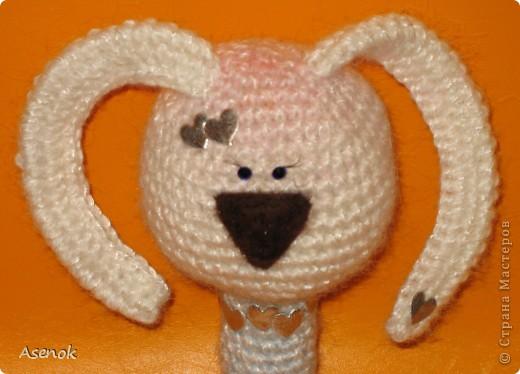 Насмотревшись на кролов Жанны http://stranamasterov.ru/user/19873 я не удержалась и сотворила вот такую девочку. фото 2