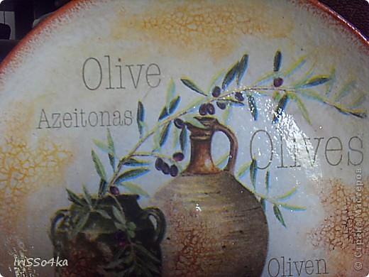 Пластиковая тарелочка,мотив любимой салфеточки,акрил,2х-шаг.кракле,обожаемая пастель,лак.  фото 2