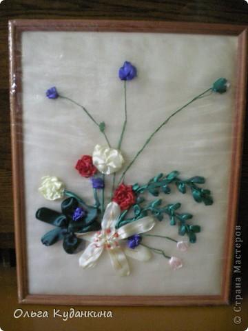 Лилия с розами фото 1