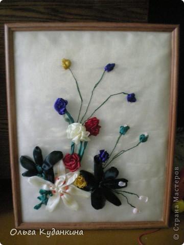 Лилия с розами фото 2