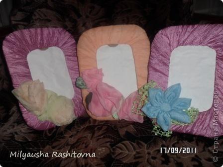 Вот такие фоторамочки я приготовила в подарок  девочкам которые будут выступать у меня в кнцерте. фото 1