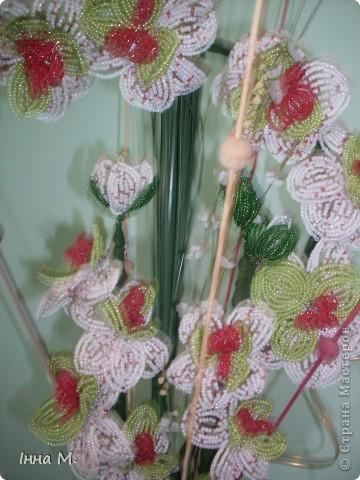 Квіти з бісеру фото 2