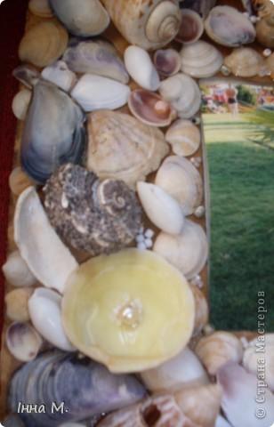 Після поїздки в Крим вирішила зробити щось на згадку із привезених ракушок. фото 2