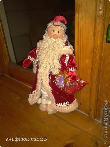 Вот такого Деда Мороза мы и будем делать. фото 1