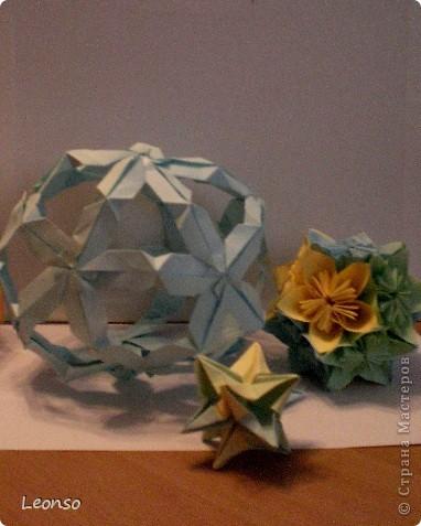 """Давно уже хотела попробовать сделать кусудаму ,но вначале пришла идея вот такого кубика Все очень просто Цветочки из кругов по МК k.аkтуs """"Цветок из кругов для открыток фото 11"""
