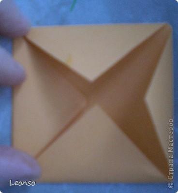 """Давно уже хотела попробовать сделать кусудаму ,но вначале пришла идея вот такого кубика Все очень просто Цветочки из кругов по МК k.аkтуs """"Цветок из кругов для открыток фото 2"""