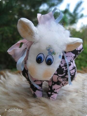 Сшилась такая маленькая овечка по имени Долли. фото 1