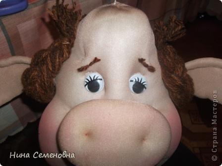 Куклы Шитьё Буренка мастер-класс Капрон фото 44