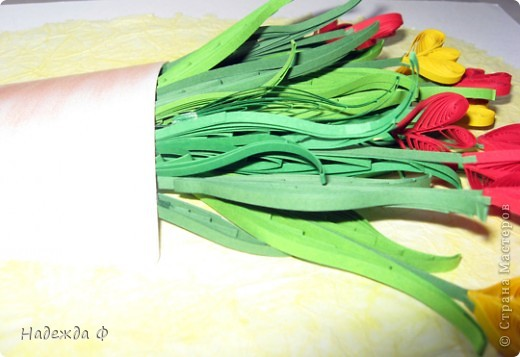 Тюльпанчики с курсов ОльгиК фото 3