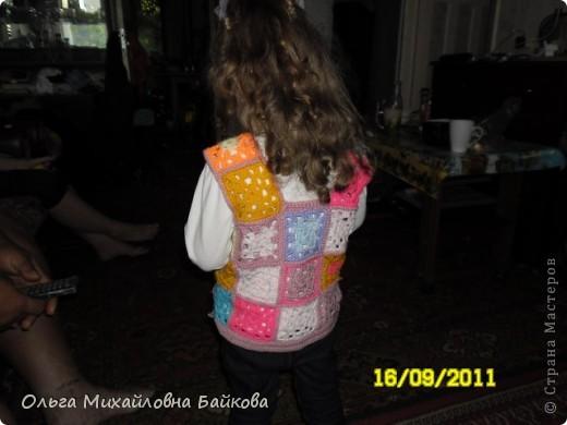 Жилетка для внучки. фото 3
